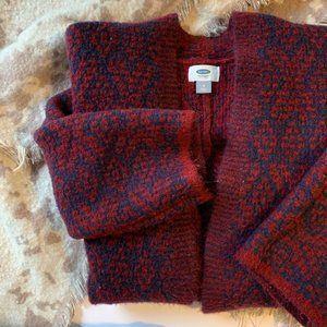 Old Navy Thick Knit Coat Cardigan Sweater Size M
